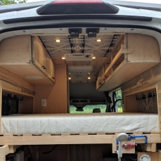Witts Ford Transit conversion 17
